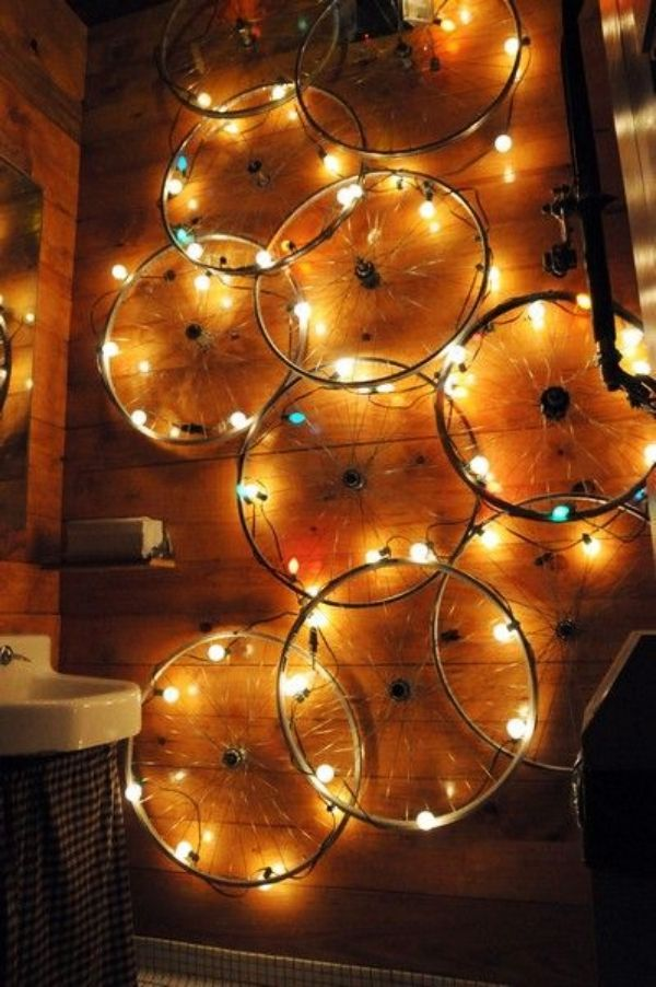 40 Creative Old Cycle Rim Craft Ideas Bored Art Cool Diy Projects Light Crafts Diy Lamp