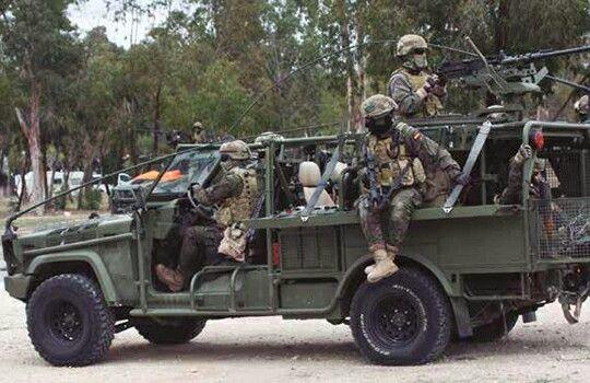 VELOE (Vehículo Ligero de Operaciones Especiales) del MOE - Spain