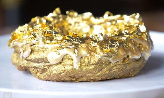 This Is How The 24-Karat Golden Cristal Ube Donut Is Made
