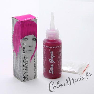 coloration cheveux rose fluo uv stargazer - Gel Colorant Cheveux