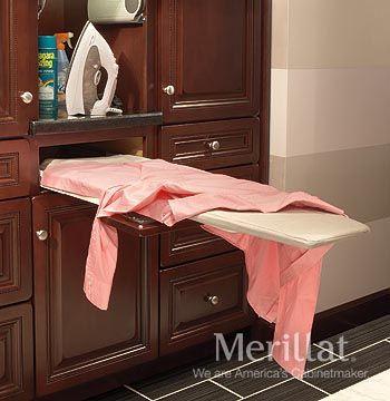 base ironing board masterpiece accessories merillat cabinetry a foldaway ironing board