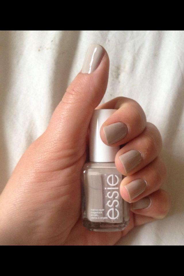 """Nails done in Essie's """"sand tropez"""""""