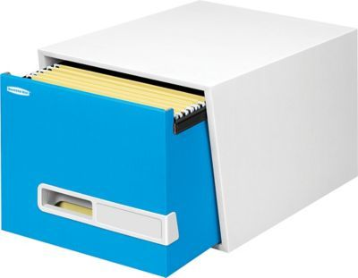 "$55.46 Bankers Box® Stor/Drawer® Premier™ Space-Saving Storage Drawer, 18"" Letter, Blue Item: 241226    Model: 3793001"