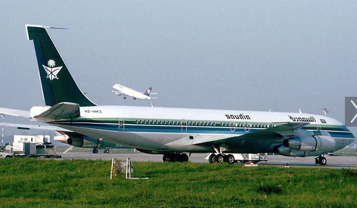 Vintage Saudia B707