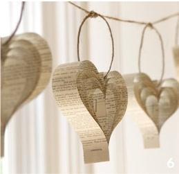 DIY HEART GARLAND Girlande als Herz selbst gemacht