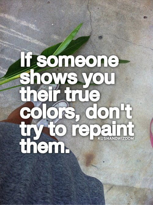 Some people will never change, no matter how many empty apologies they give you.