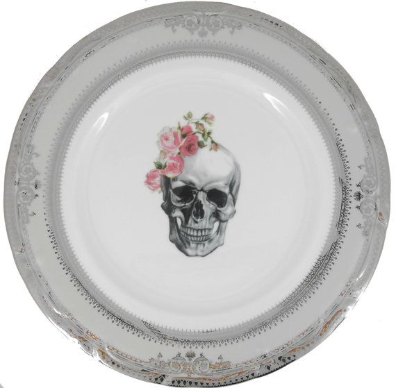 Hey, I found this really awesome Etsy listing at https://www.etsy.com/listing/228212884/bridesmaid-skeleton-skull-with-roses
