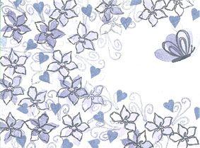 Sketchy Floral, Majestix Peg Stamp set