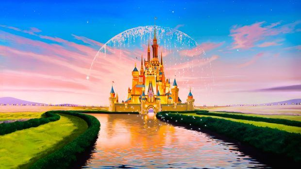 Disney Castle Wallpaper Mobile 1920x1080 Disney Desktop Wallpaper Disney Wallpaper Castle Mural