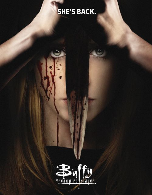 Buffy the Vampire Slayer Teaser Poster: inspired by this