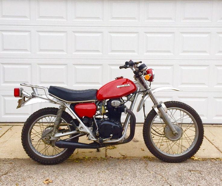 eBay 1972 Honda SL 1972 Honda SL350 Vintage Dirtbike Dual