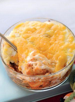 Meaty macaroni