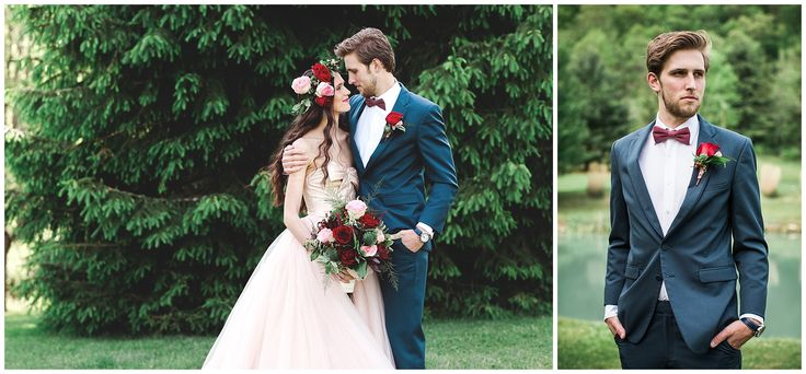 iso:alt, jasmine rose photography, foxwood inn bed and breakfast, brown sack florist, the parachute brigade, wedding inspiration, fall wedding ideas, floral bridesmaids dress, red and green wedding, red and pink wedding, tree ceremony, unique wedding inspiration, different bridesmaids dresses