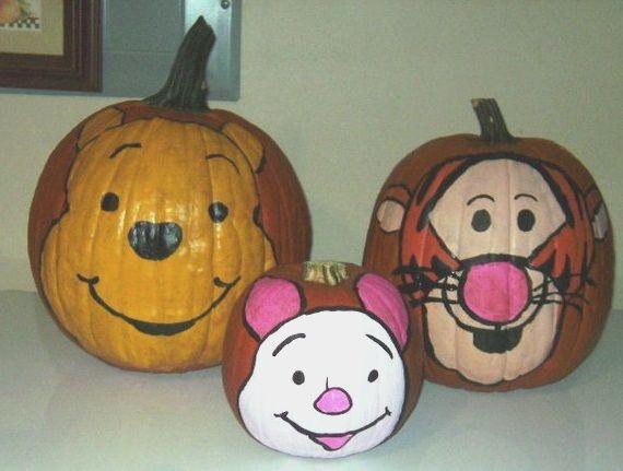 winnie the pooh pumpkins