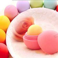 9 Kleuren Aan 2015 Mode Natuur aardbei mint oranje smaak Eosing Lippen Balsem Bal Glossy Lipstick Gratis Verzending