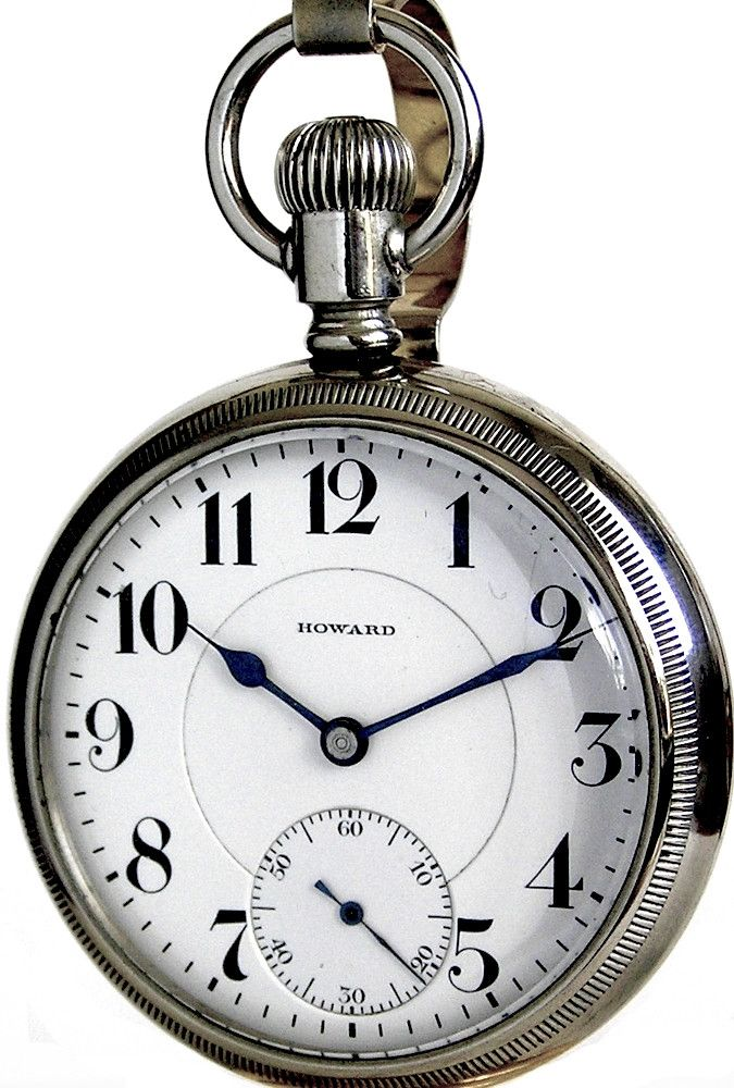 Howard Antique Railroad Pocket Watch 16 Size 19 Jewels Series 5 Circa 1913