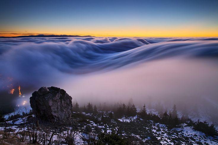 Winter in the Czech Republic Morning of Dreams by Martin Rak on 500px