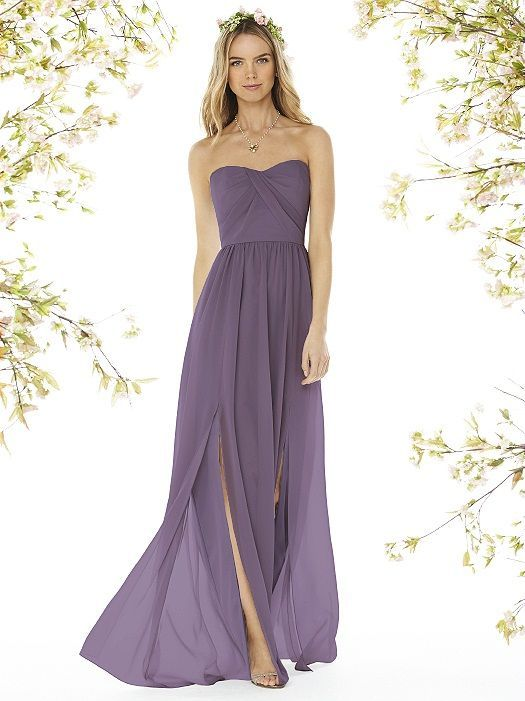 Summer Lavender Wedding Inspiration - Social Bridesmaids Lavender Bridesmaids Dress – DESSY