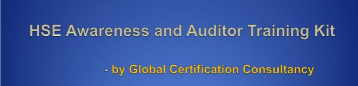 HSE Awareness and Auditor Training Presentation Kit is based on OHSAS 18001:2007 Health and Safety Management System and Revised 14001:2015 Environment management system. This Training kit is designed to introduce the HSE audit requirements and procedures.