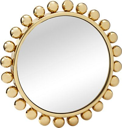 Fornasetti Brass-framed Collier Mirror -  - Barneys.com