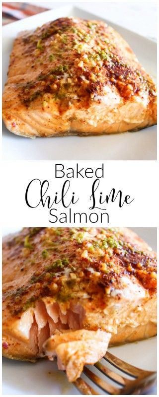 Marinaded with a chili lime sauce, wrapped in foil and baked to tender, flaky perfection, chili lime salmon is sure to be a hit with any family member.
