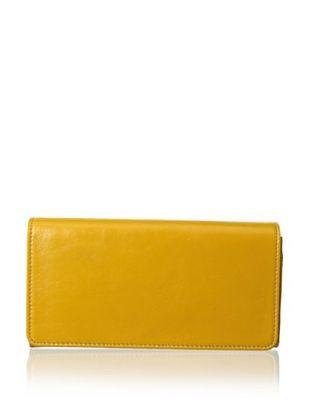 63% OFF Latico Women's Roxie Flap Wallet, Gold