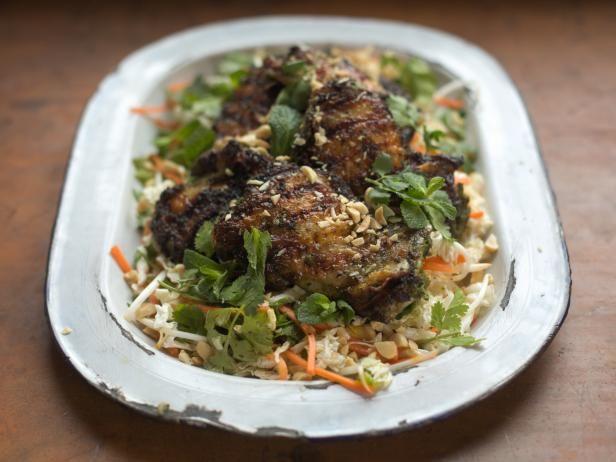 Get Vietnamese Crispy Chicken Salad Recipe from Cooking Channel