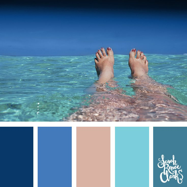 30 Color Palettes Inspired by the Pantone Spring 2017 Color Trends | See all 30 color schemes for inspiration at http://sarahrenaeclark.com #colorpalette #colorscheme
