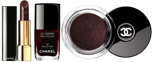 Chanel Rouge Noir Absolument Makeup Collection. Navidad 2015/2016