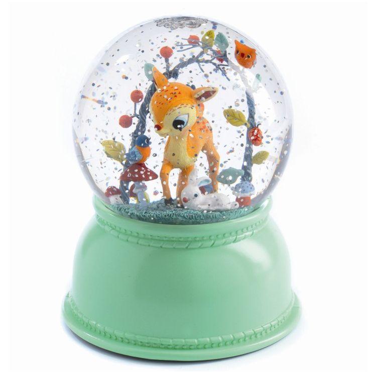 Djeco lampe – snekugle med lys – Bambi - Tinga Tango #djeco#legetøj#børneværelse#snekugle