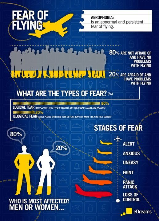 Some facts about fear of flying (aerophobia) http://blog.edreams.com/fear-of-flying-infographic/