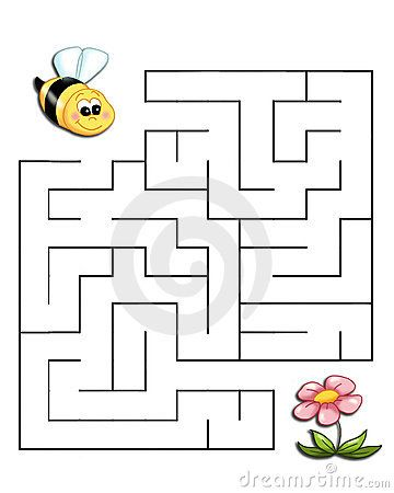 Game 19, the bee reaches the flower