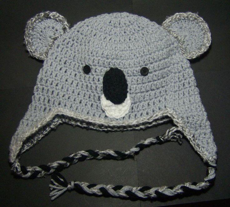 Koala Hat Knitting Pattern Free : Cute Koala Hat Yarn Pinterest Hats, The ojays and ...