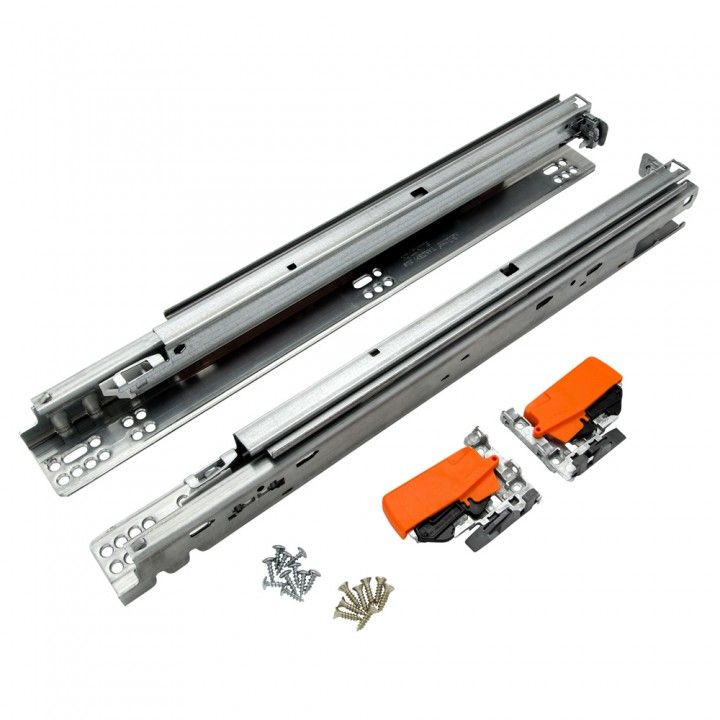 Blum® Heavy-Duty Tandem BLUMotion Undermount Drawer Slides For heavy drawers - trash and recycling