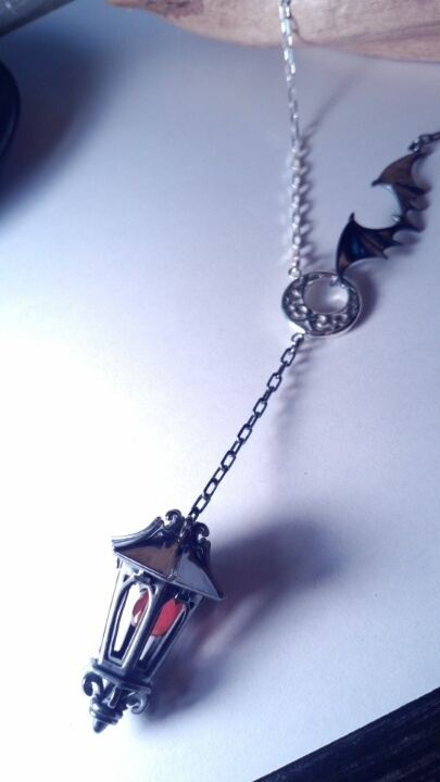 Lantern necklace by Isoguten, Japan