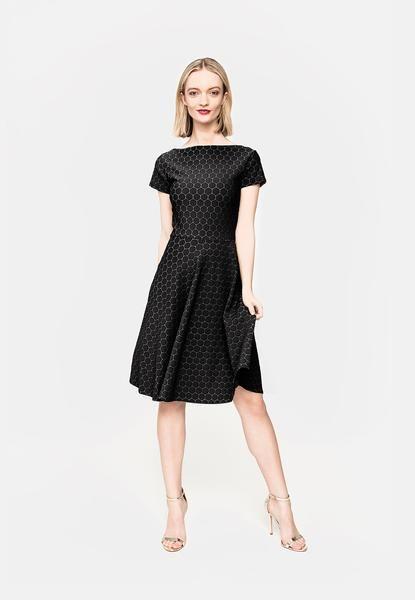 Wrap Dress   Circle Dress in Black Cameo Cloth   Shop   Leota