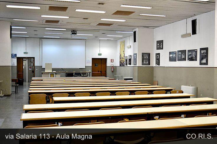 L'Aula Magna di Via Salaria 113