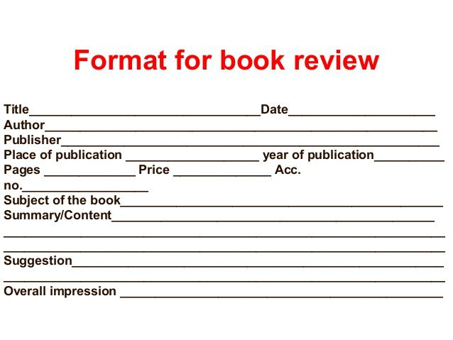 Best Book Reviews Images On   Book Review Template