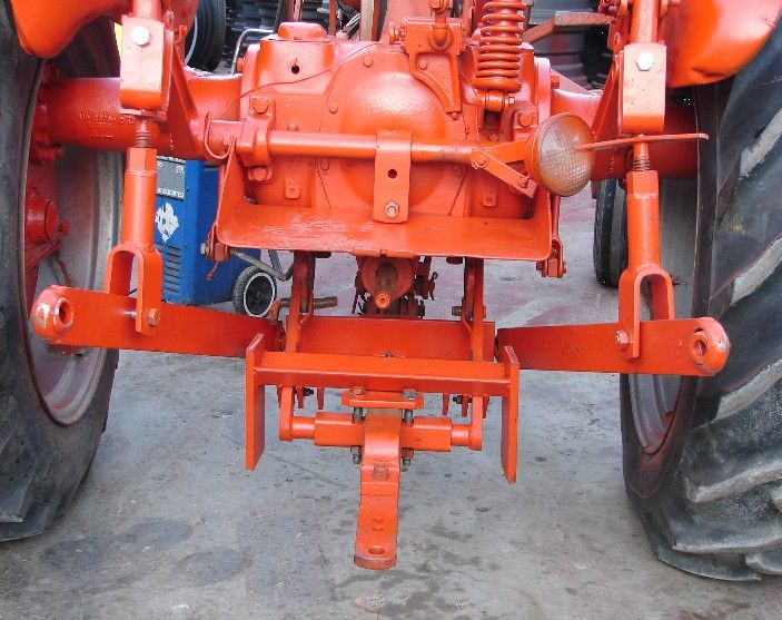 WD 45 with 3-point adapter | Antique Farm Equipment ...