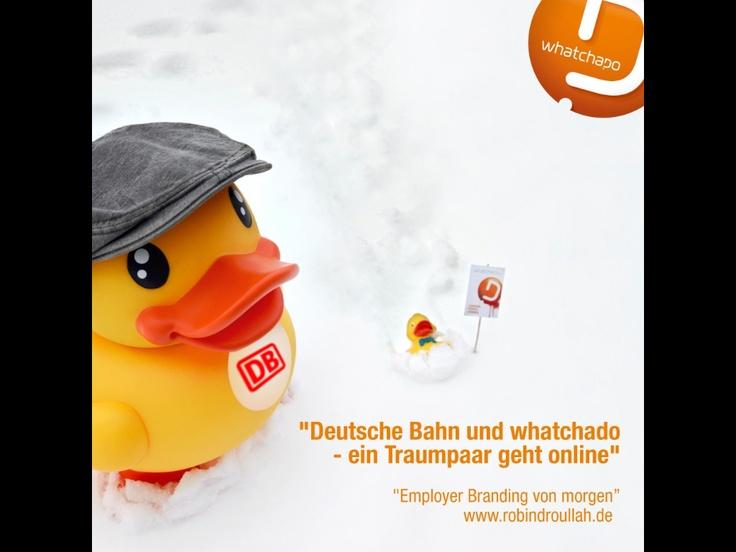 Deutsche Bahn und whatchado - ein Traumpaar geht online