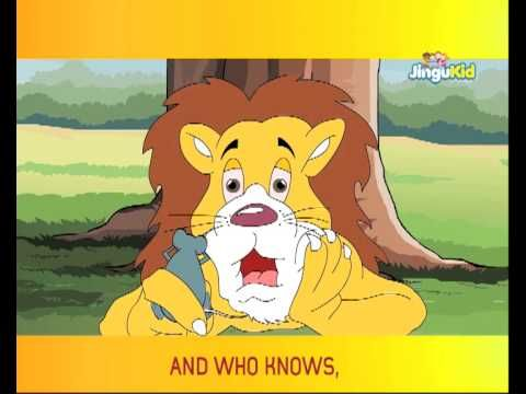 Aesop's Fables for Kids - THE LION AND THE MOUSE - Children Animated Stories