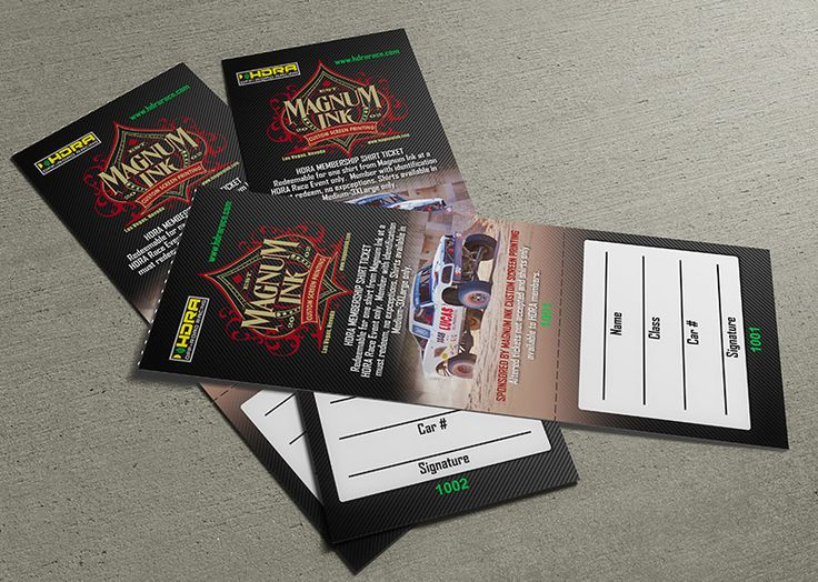 raffle ticket design