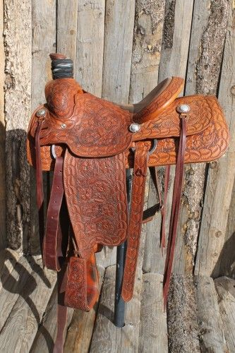 King's Saddlery Roping Saddle for Sale - For more information click on the image or see ad # 54470 on www.RanchWorldAds.com