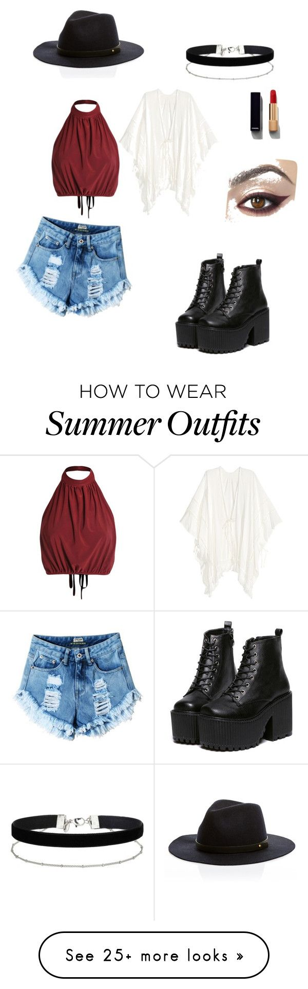 """Summer outfit"" by the-styleswot on Polyvore featuring Miss Selfridge and Chanel"