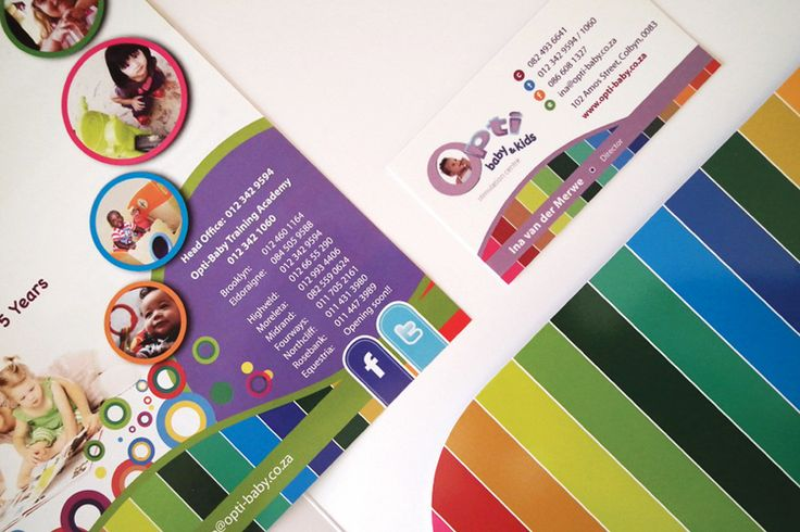 Opti-baby Business Cards and Flyers