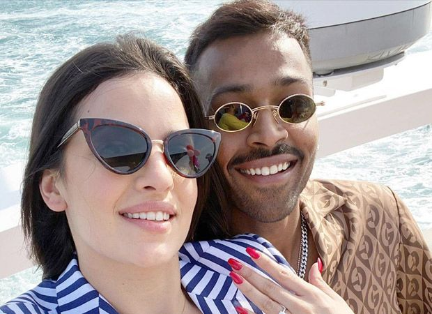 Hardik Pandya Gets Engaged To Girlfriend Natasa Stankovic See Photos In 2020 Engagement News Bollywood News Bollywood