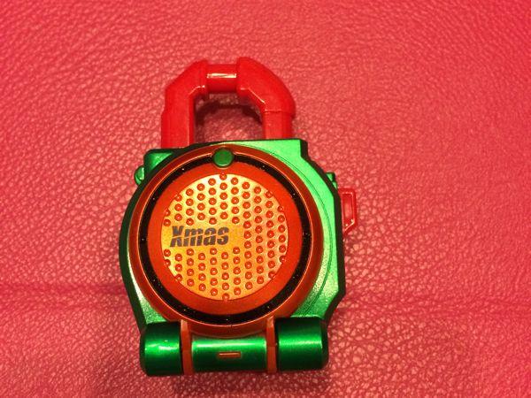 仮面ライダー鎧武 ロックシード クリスマス キャラデコ オレンジ_画像1