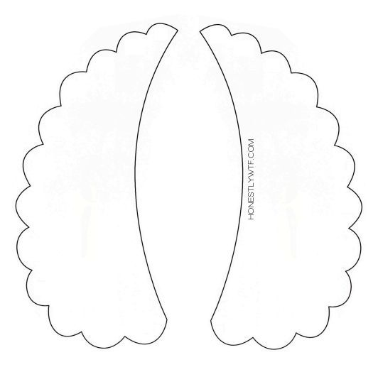 peter pan collar necklace template - Google Search