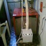 Μετατροπή λέβητα πετρελαίου με καυστήρα πέλλετ στο Λιτόχωρο Πιερίας (Δημήτρης Παπαδόπουλος)