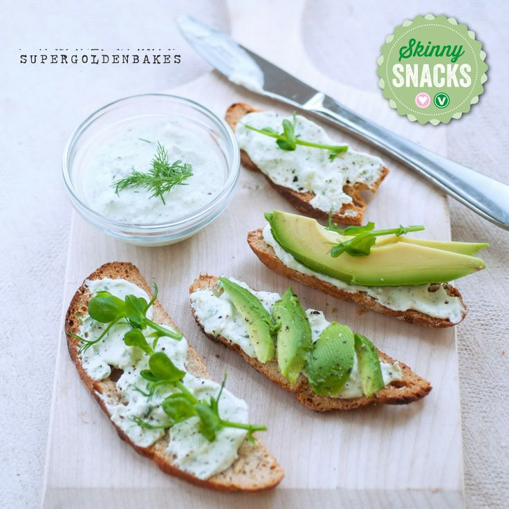 Sourdough bread chips with whipped feta dip - the skinny snack series